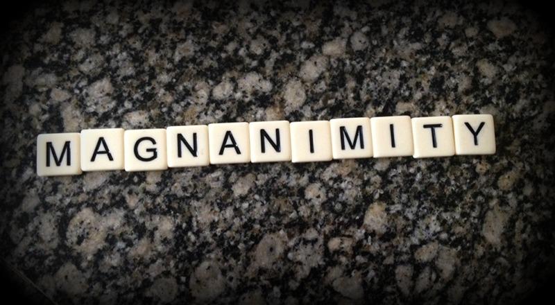 magnanimity
